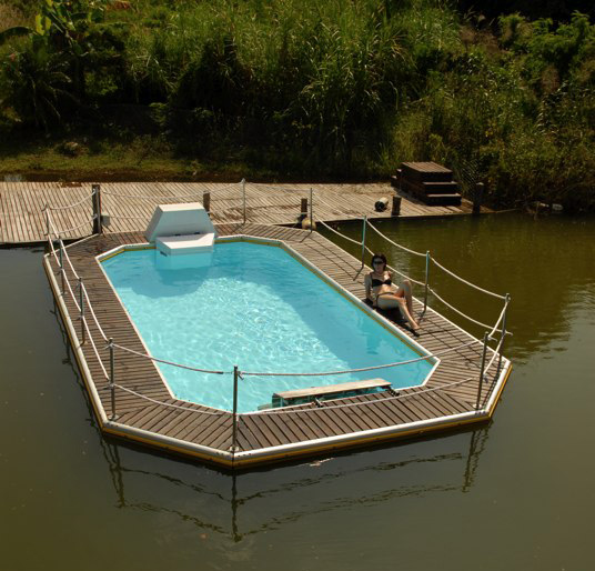 Add A Clean Swimming Pool To Even The Murkiest Lagoon, Marina, Swamp Or  Pond.