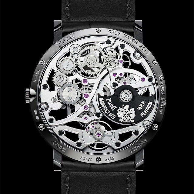 Piaget Only Watch Altiplano 38mm Skeleton 1200S back