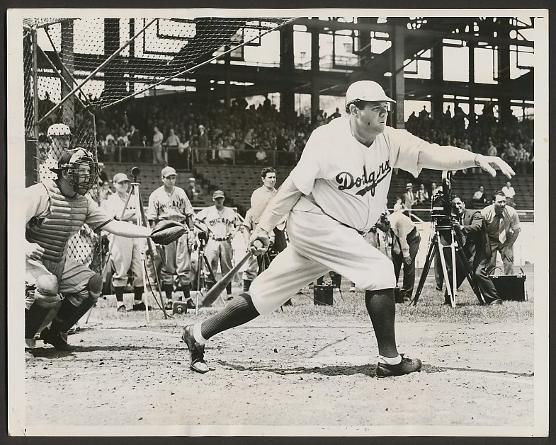 Image result for babe ruth brooklyn dodgers