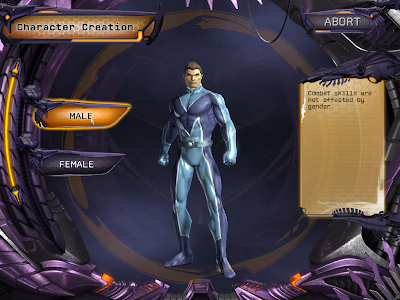 DC Universe Online - Character Creation Gender