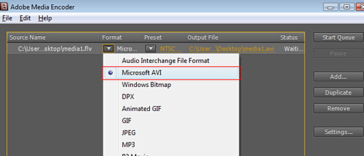 FLV to MP3, FLV to AVI convertor