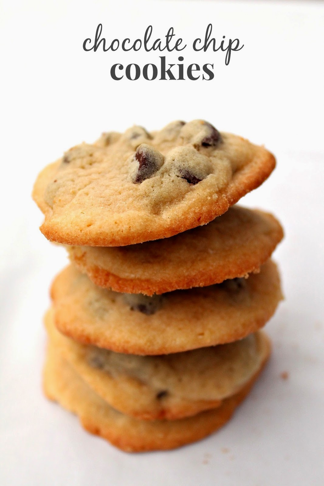 Perfect Chocolate Chip Cookies via @labride