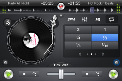 iPhone app djay gets updated to 1.2.2