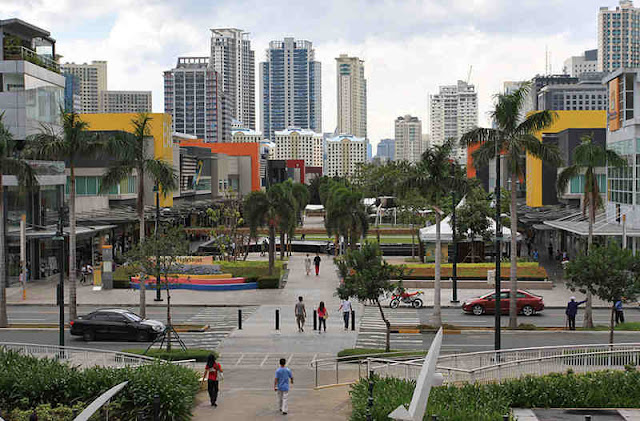 Bonifacio Global City in Taguig City
