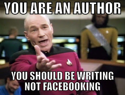 You are an author... You should be writhing!
