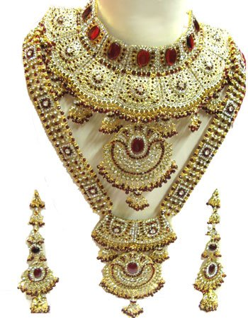 Women Fashionable Kundan jewelry Trends