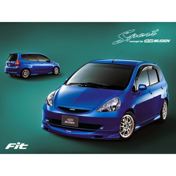 Body Kit Honda Jazz 2004-2006 Mugen Sports
