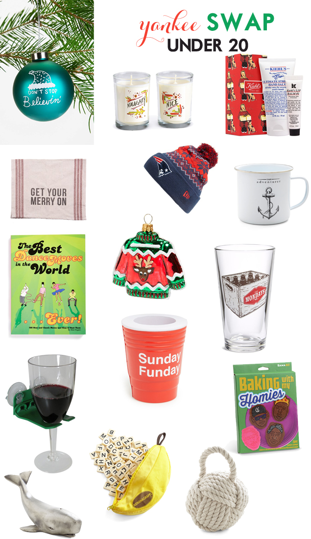 Unisex Gifts Under 20 valentine: yankee swap: gifts under 20