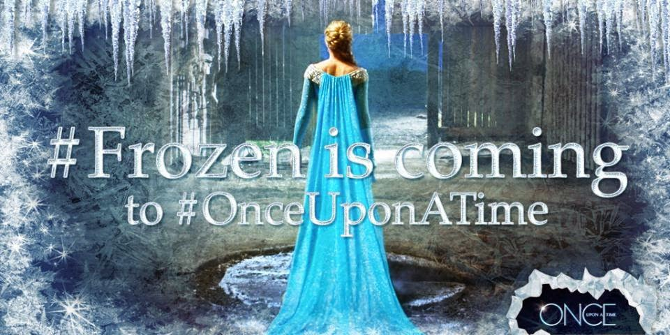 #Frozen is Coming to #OnceUponATime