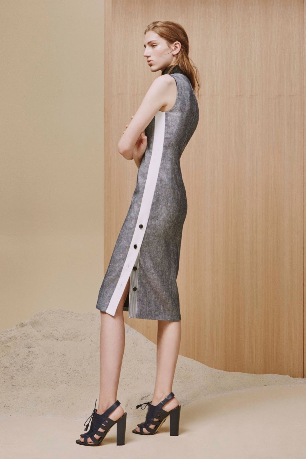 Adeam Resort 2016 / best looks of resort 2016 inspired by organic and natural fabrics and living. Via fashioned by love / british fashion blog