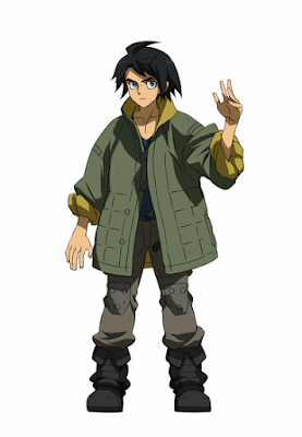 Mobile Suit Gundam: Iron-Blooded Orphans Mikazuki Augus official character design image 00