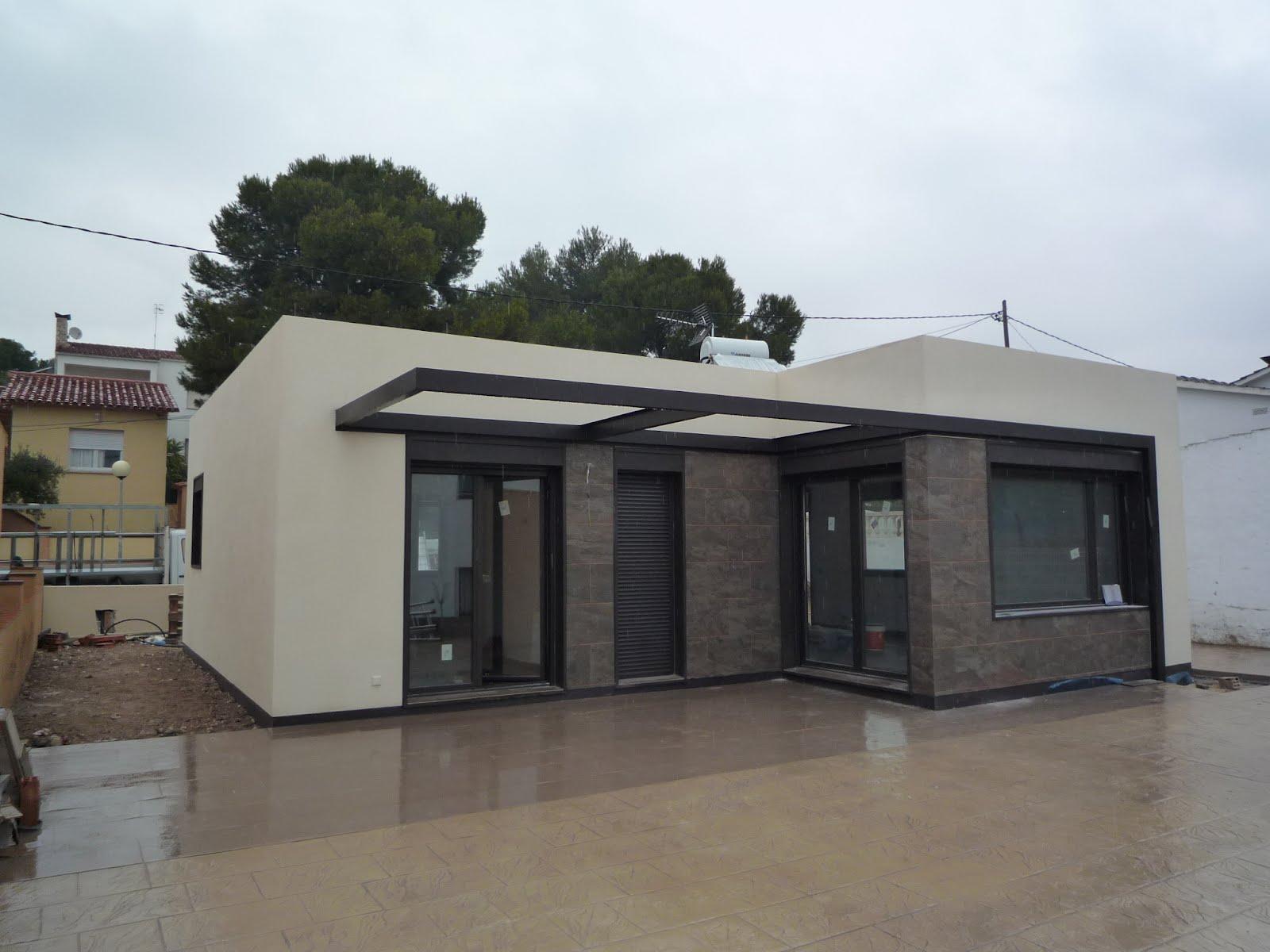 Casas modulares blochouse blochouse en calafell - Casas prefabricadas mediterraneas ...