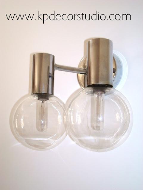 Comprar lampara vintage online para salon o dormitorio. Apliques KP decoracion vintage online