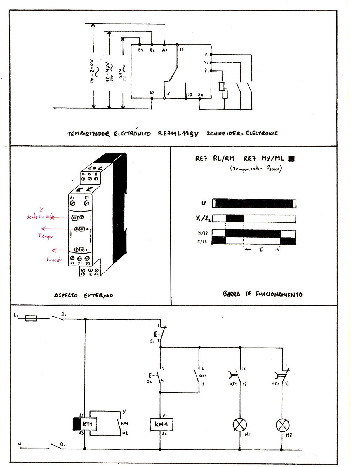 Pr ctica 4 0 temporizador electr nico al reposo - Temporizadores de luz ...