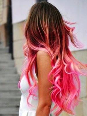 peinados 2014 look pelo de colores