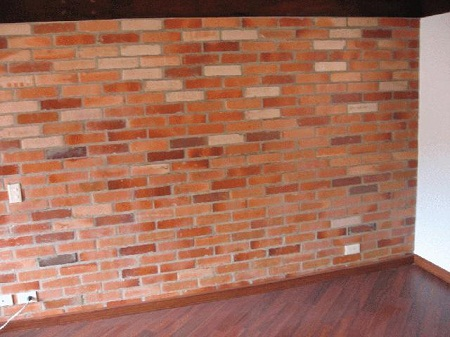 C mo preparar muros de ladrillo antes de - Muros de ladrillo visto ...