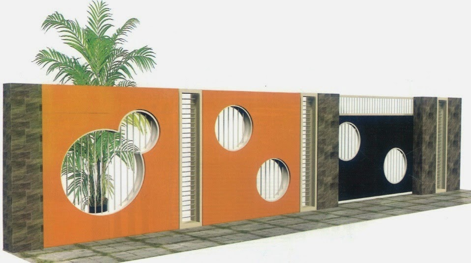 gambar pagar rumah