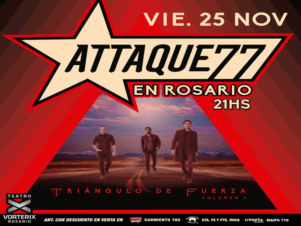 EP Triangulo De Fuerza Attaque 77