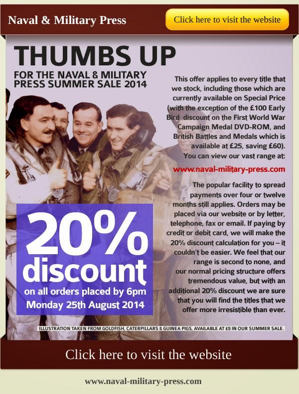 Naval & Milityary Press sale