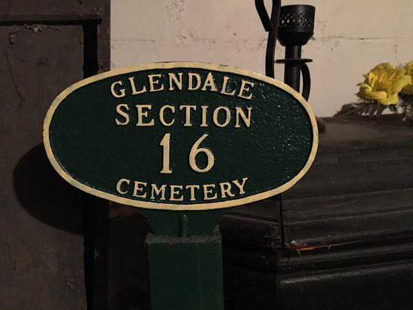 Cemetery Sign ~