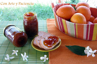 Mermelada de Naranja con un toque de Canela