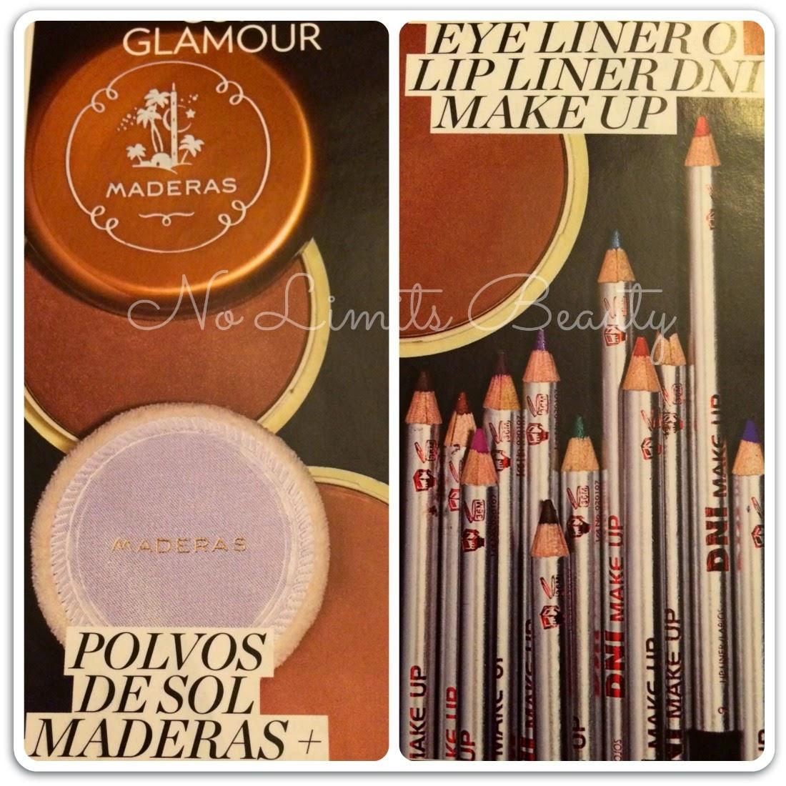 Regalos revistas septiembre 2014: Glamour