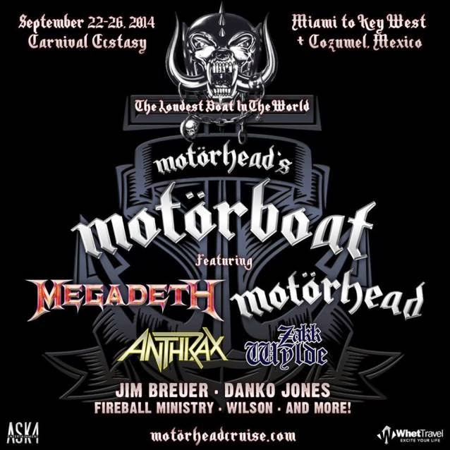 motorhead cruise lineup