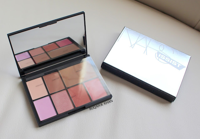 NARS NARSissist Cheek Studio Palette Review and Swatches