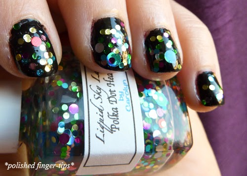 Polka Dot Heaven by Liquid Sky Lacquer - Natural Light