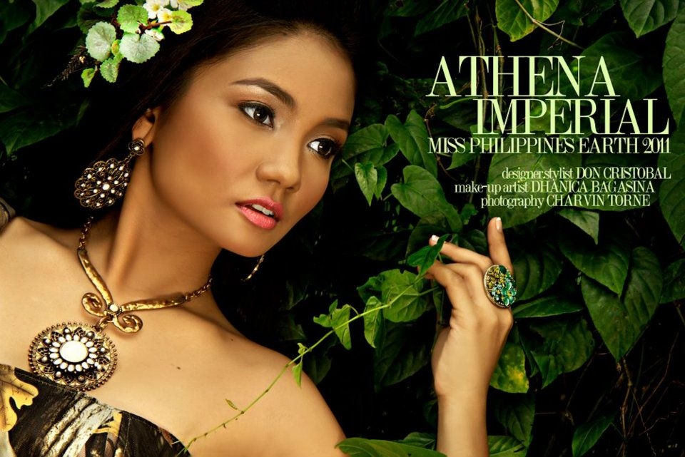 athena imperial,miss earth philippines 2011