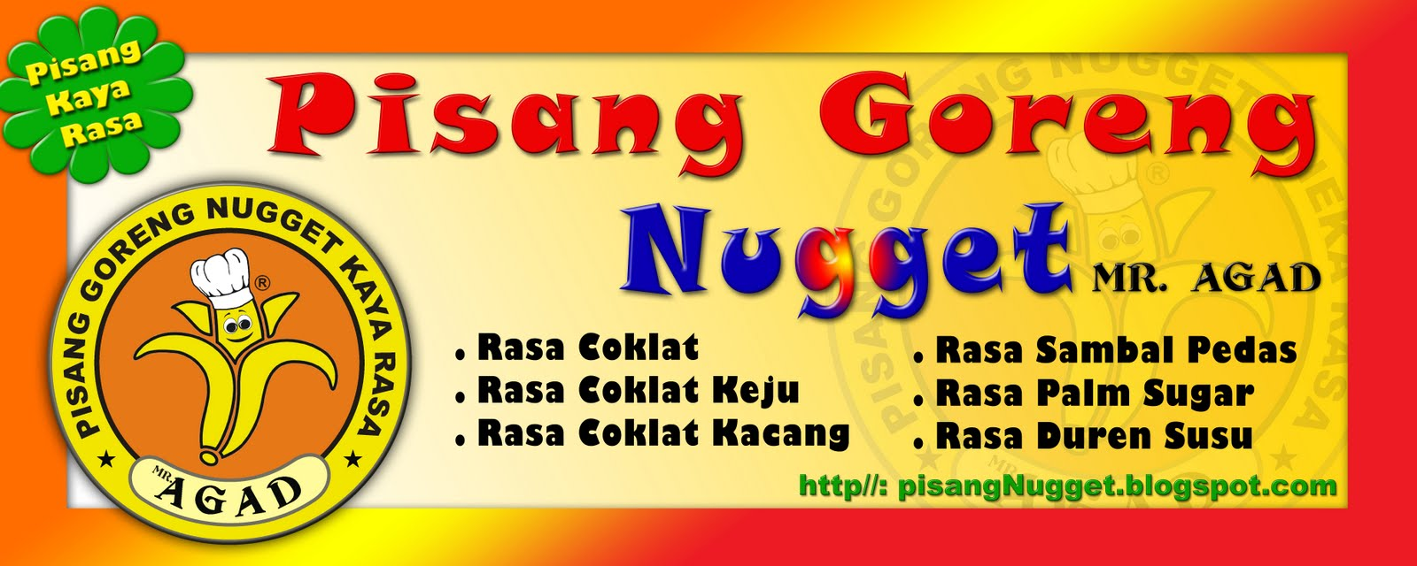 pisang nugget kaya rasa quotmragadquot