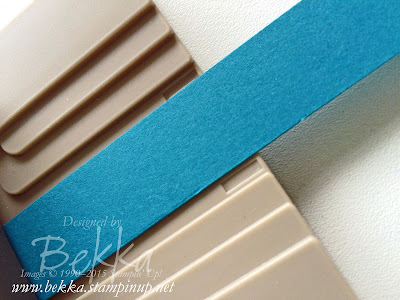 How to Punch a 3/4 Inch Banner with the Triple Banner Punch from Stampin' Up!