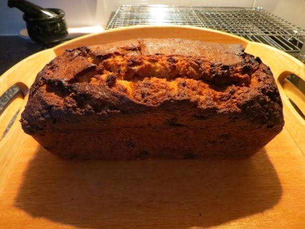 Caribbean Spiced Banana Loaf Cake
