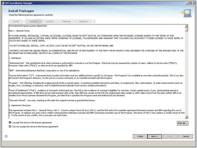 websphere application server start server command