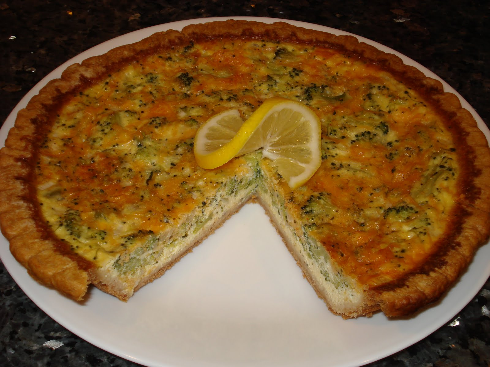 Frugal and Tasty: Broccoli Cheddar Quiche