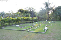 mini golf at Ruins,Talisay City