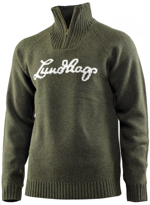 Lundhags knitted Logo Pullover