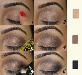 Como Maquilhar os Olhos com 3 Sombras