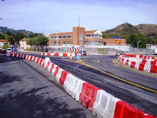 Muskiz prevé finalizar las obras de accesibilidad de la N-634 a finales de 2014