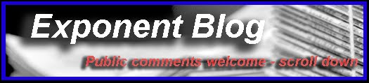 Exponent Blog
