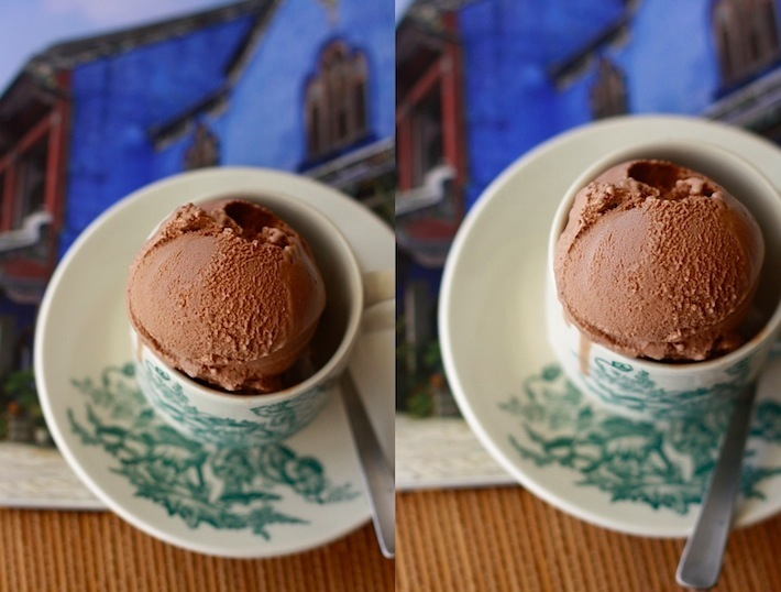 how to make homemade coffee chocolate ice cream recipe
