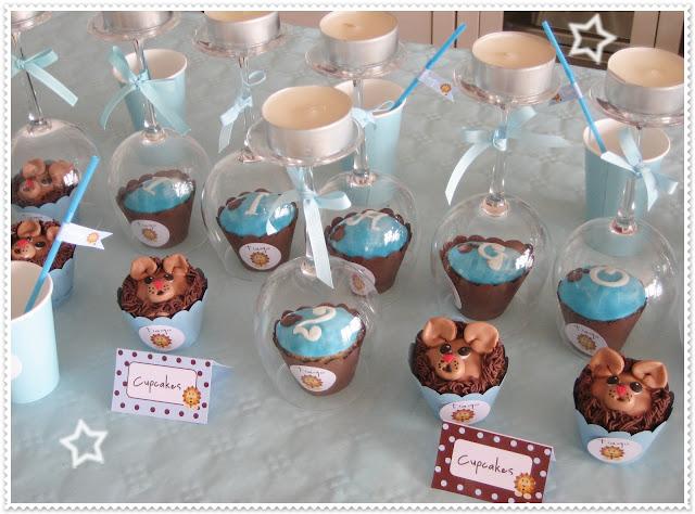 Cupcakes de leoncito