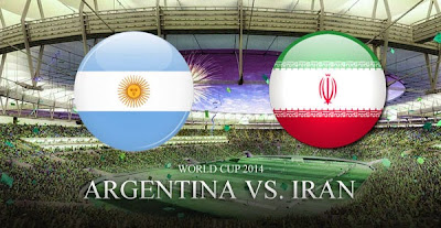 Video Cuplikan Gol Argentina vs Iran