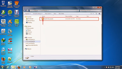 how to unhide files and folders in windows 7 step14