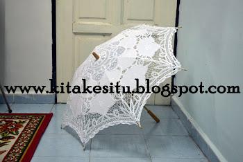 Nak sewa payung lace? Klik gambar
