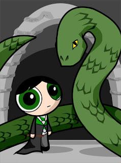 Basilisco. Harry Potter y la Cámara Secreta. Tom Riddle.