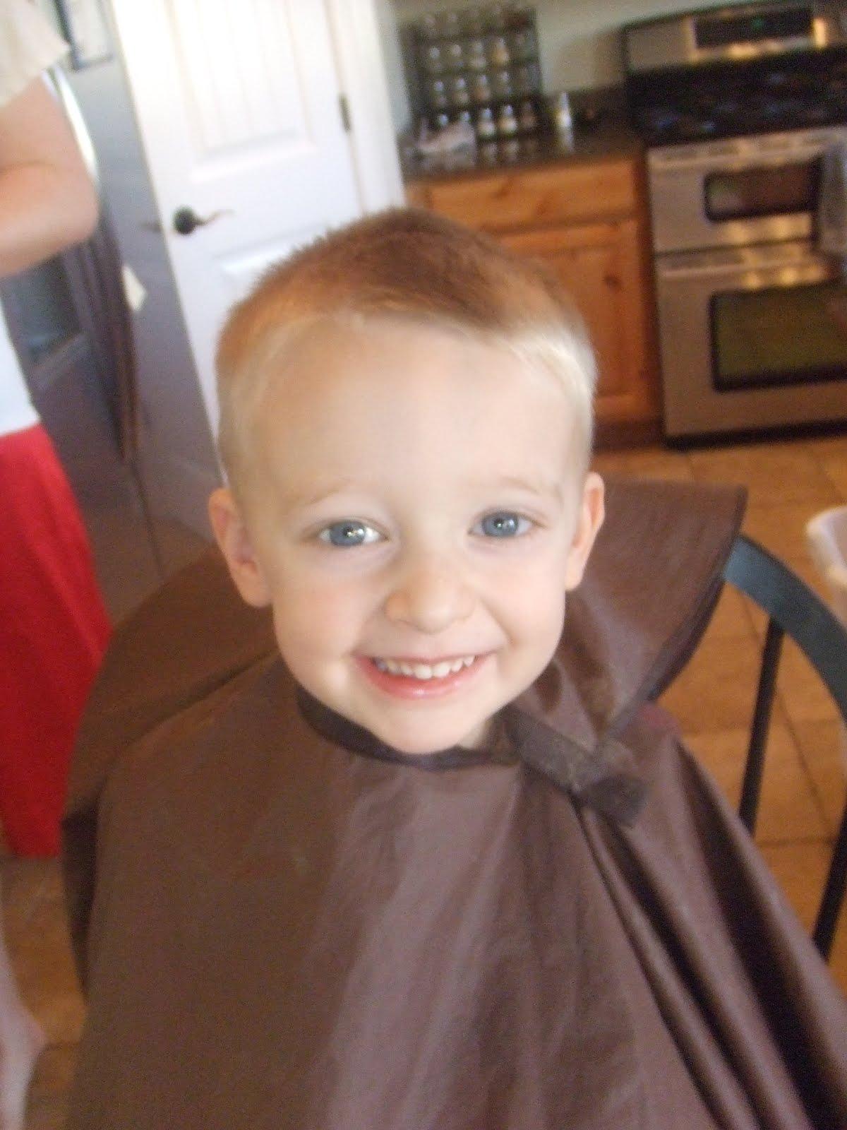 What These Hands Do Tutorial Boy Hair Cut