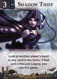 Lost Legacy AEG card game news shadow thief