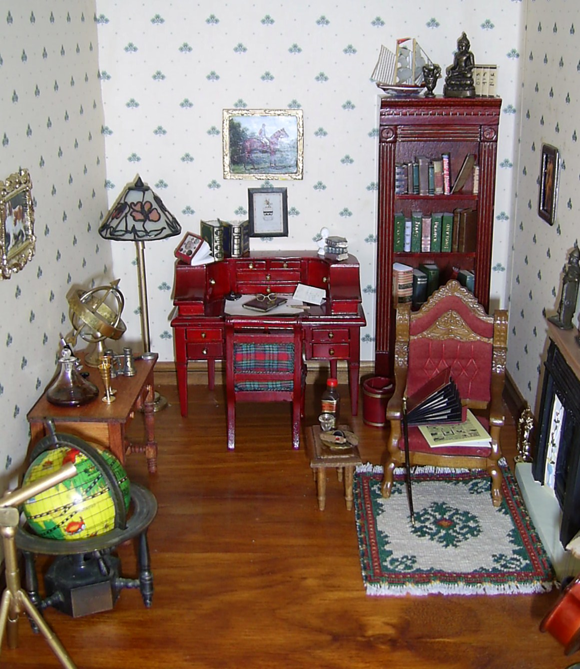 Houses And Minis Paints And Wallpaper For Decorating A Dolls House