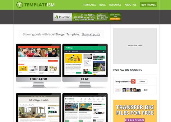 Percuma Template Profesional untuk blogger Malaysia